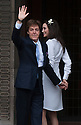 Paul McCartney wedding to Nancy Shevell at Westminster Registry Office in Marylebone Road, London.today 9.10.11.They arrive at the registry office....Pic by Gavin Rodgers/Pixel 8000 Ltd