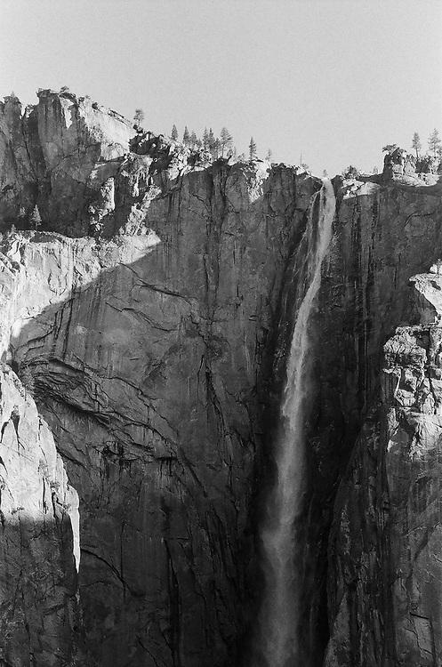 Ribbon Falls Close Up, 2017, Ilford Delta Film