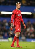 2nd February 2019, Stamford Bridge, London, England; EPL Premier League football, Chelsea versus Huddersfield Town; Goalkeeper Jonas Lossl of Huddersfield Town looking on