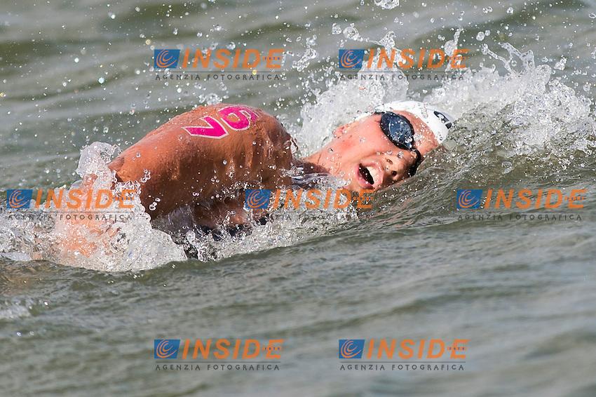 ANDRE' Angelica POR<br /> Hoorn, Netherlands <br /> LEN 2016 European Open Water Swimming Championships <br /> Open Water Swimming<br /> Women's 5km<br /> Day 02 12-07-2016<br /> Photo Giorgio Perottino/Deepbluemedia/Insidefoto