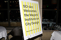 Sci-Arc welcomes the Mayors' Institute on City Design