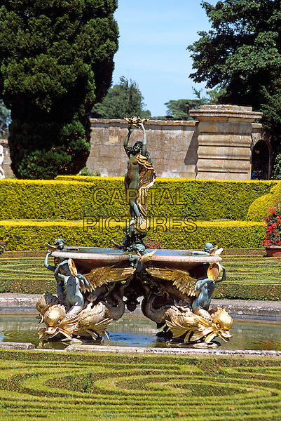 Blenheim Palace, Woodstock, near Oxford, Oxfordshire, England. Italian Garden.