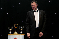 Ronnie Irani prepares to address the audience during the Essex CCC 2017 Awards Evening at The Cloudfm County Ground on 5th October 2017
