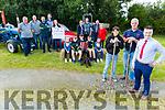 Launching the Knocknagoshel Harvest Festival on Tuesday evening in Knocknagoshel. <br /> Standing front left: Helena O'Mahoney, Noel Brosnan and Dan Roche.