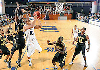 Florida International University guard Cameron Bell (10) plays against Alabama State University, which won the game 60-57 on December 3, 2011 at Miami, Florida. .
