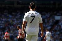 Real Madrid's Cristiano Ronaldo during La Liga Match. September 01, 2013. (ALTERPHOTOS/Caro Marin) <br /> Football Calcio 2013/2014<br /> La Liga Spagna<br /> Foto Alterphotos / Insidefoto <br /> ITALY ONLY