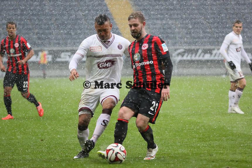 Marc Stendera (Eintracht) - Eintracht Frankfurt vs. Servette Genf, Commerzbank Arena