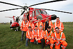Members of the Drogheda Coast Guard unit with the IMES Coast Guard Helicopter during an exercise in Mornington on Sunday..Photo NEWSFILE/FRAN CAFFREY..(Photo credit should read FRAN CAFFREY/NEWSFILE)...This Picture has been sent you under the condtions enclosed by:.Newsfile Ltd..the Studio,.Millmount Abbey,.Drogheda,.Co Meath..Ireland..Tel: +353(0)41-9871240.Fax: +353(0)41-9871260.GSM: +353(0)86-2500958.email: pictures@newsfile.ie.www.newsfile.ie.FTP: 193.120.102.198..This picture is from Fran Caffrey@newsfile.ie