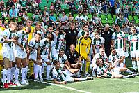 GRONINGEN - Voetbal, Opendag FC Groningen, seizoen 2018-2019, 05-08-2018, groepsfoto tijdens presentatie