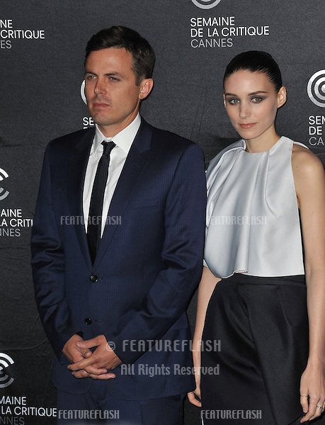 """Rooney Mara & Casey Affleck at the screening for their movie """"Ain't Them Bodies Saints"""" at the 66th Festival de Cannes..May 18, 2013  Cannes, France.Picture: Paul Smith / Featureflash"""