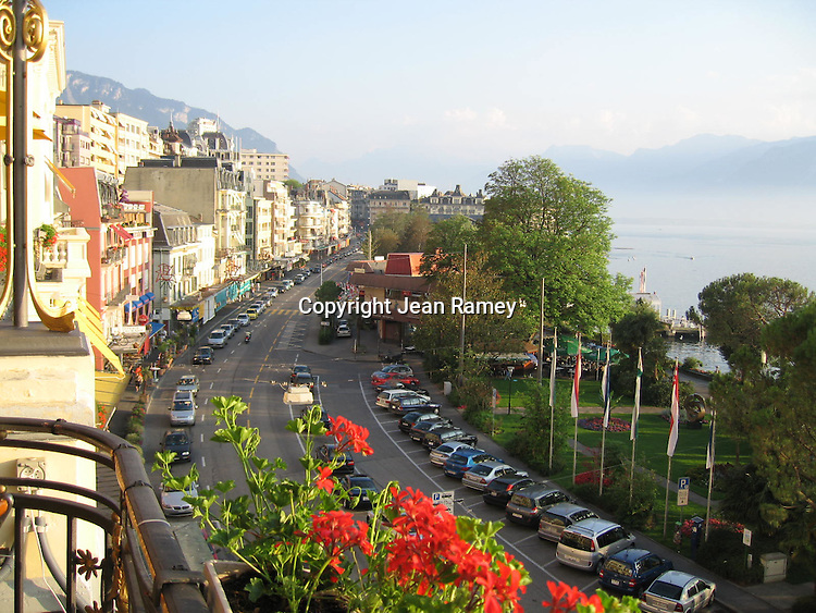 Montreux, Switzerland on Lake Geneva