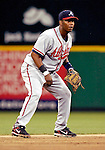 16 May 2007: Atlanta Braves shortstop Edgar Renteria in action against the Washington Nationals at RFK Stadium in Washington, DC. The Nationals rallied to defeat the Braves 6-4 to take a 2-1 lead in their four-game series...Mandatory Photo Credit: Ed Wolfstein Photo