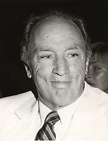 Montreal (Qc) CANADA -  August 2 1984 File Photo - Pierre Trudeau attend a movie premiere