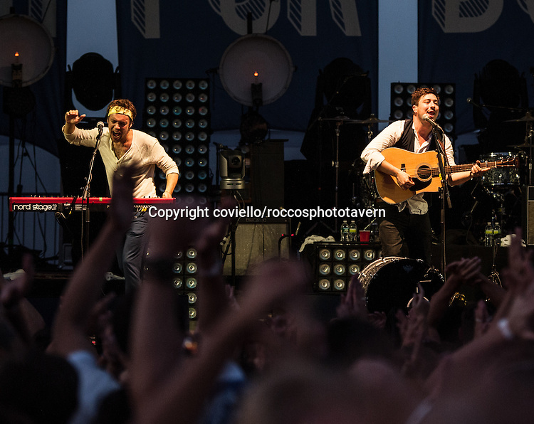 Mumford and Sons at The Promenade in Portland Maine.