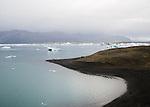 le 19 aout 2013, iceberg à Jokulsarlon en islande. the 19th august 2013, Icebergs at jokulsarlon in iceland