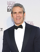 NEW YORK, NY - SEPTEMBER 28: Andy Cohen attends the New York City Ballet's 2017 Fall Fashion gala at David H. Koch Theater at Lincoln Center on September 28, 2017 in New York City.  Photo Credit: John Palmer/MediaPunch