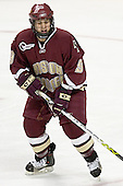 Nathan Gerbe - The Boston University Terriers defeated the Boston College Eagles 2-1 in overtime in the March 18, 2006 Hockey East Final at the TD Banknorth Garden in Boston, MA.