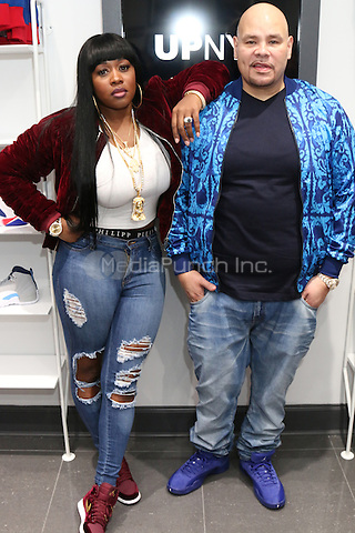 NEW YORK, NY - NOVEMBER 5, 2016 Remy Ma & Fat Joe attend the opening of the UPNYC Sneaker store in New York City. Photo Credit: Walik Goshorn / Mediapunch