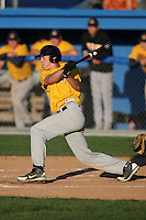 September 15,2009:  Genesee Community College (GCC) Cougars Men's Baseball team vs. Team New Era Travel at Dwyer Stadium in Batavia, NY.  Photo Copyright Mike Janes Photography 2009
