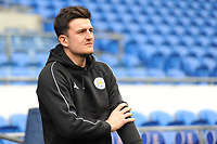 Leicester City's Harry Maguire<br /> <br /> Photographer Kevin Barnes/CameraSport<br /> <br /> The Premier League -  Cardiff City v Leicester City - Saturday 3rd November 2018 - Cardiff City Stadium - Cardiff<br /> <br /> World Copyright © 2018 CameraSport. All rights reserved. 43 Linden Ave. Countesthorpe. Leicester. England. LE8 5PG - Tel: +44 (0) 116 277 4147 - admin@camerasport.com - www.camerasport.com