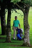 Peter McKeever (Castle) during the final round at the Mullingar Scratch Trophy, the final event in the Bridgestone order of merit Mullingar Golf Club, Mullingar, West Meath, Ireland. 11/08/2019.<br /> Picture Fran Caffrey / Golffile.ie<br /> <br /> All photo usage must carry mandatory copyright credit (© Golffile | Fran Caffrey)