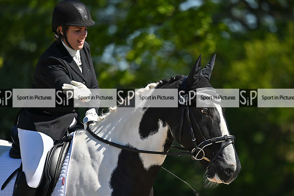 Class 2. British dressage. Brook Farm Training Centre. Essex. UK. 12/05/2019. ~ MANDATORY Credit Garry Bowden/Sportinpictures - NO UNAUTHORISED USE - 07837 394578