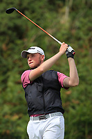 Dylan Brophy (Castleknock) on the 7th tee during the 1/4 Finals of the AIG Irish Close Championship at the European Club, Brittas Bay, Wicklow, Ireland on Monday 6th August 2018.<br /> Picture: Thos Caffrey / Golffile<br /> <br /> All photo usage must carry mandatory copyright credit (&copy; Golffile | Thos Caffrey)