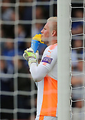 30th September 2017, Vitality Stadium, Bournemouth, England; EPL Premier League football, Bournemouth versus Leicester; Leicester Goalkeeper Kasper Schmeichel takes a drink as his team keep possession