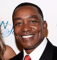 NEW YORK, NY - MAY 6, 2014:Isiah Thomas attends the Tyra Banks'  Flawsome Ball 2014 , at Cipriani Wall Street ,May 6 , 2014 in New York City  HP/StarlitePics