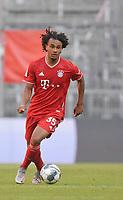 13th June 2020, Allianz Erena, Munich, Germany; Bundesliga football, Bayern Munich versus Borussia Moenchengladbach;  Joshua Zirkzee (Bayern)