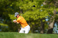 Jordan Spieth (USA) on the 13th tee during the 1st round at the PGA Championship 2019, Beth Page Black, New York, USA. 17/05/2019.<br /> Picture Fran Caffrey / Golffile.ie<br /> <br /> All photo usage must carry mandatory copyright credit (&copy; Golffile | Fran Caffrey)