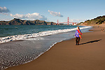 Baker Beach, Golden Gate Bridge, San Francisco, California, USA.  Photo copyright Lee Foster.  Photo # california108672