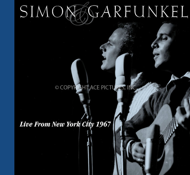 "A missing chapter in Simon & Garfunkel's rich musical history will be revealed on Tuesday, July 16, when Columbia/Legacy releases ""Live From New York City 1967.""   The 19-track disc was recorded at Lincoln Center in Manhattan on January 22, 1967, and has never before been officially released as a concert album.  Its debut will mark the only official Simon & Garfunkel live album recorded in the '60s, the decade in which the duo rose to worldwide prominence. Ref: TVSL0001. No reproduction rights granted or implied. All rights reserved by copyright holders. Supplied by NY Photo Press.   ....NY Photo Press:  ..phone (646) 267-6913;   ..e-mail: info@nyphotopress.com"