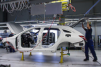 Mercedes factory Kecskemet, Hungary