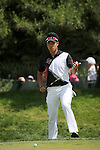 Hideki Matsuyama (JPN),<br /> June 15, 2013 - Golf :<br /> Hideki Matsuyama of Japan lines up on the green at 1st hole during the third round of the U.S. Open Championship at the Merion Golf Club, East course in Haverford Township, Delaware Country, Pennsylvania. (Photo by Koji Aoki/AFLO SPORT) [0008]