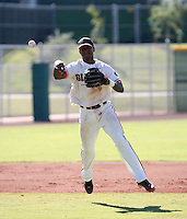 Sharlon Schoop / San Francisco Giants 2008 Instructional League..Photo by:  Bill Mitchell/Four Seam Images