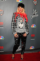 WEST HOLLYWOOD - NOV 8: Christina Aguilera at the NBC's 'The Voice' Season 3 at House of Blues Sunset Strip on November 8, 2012 in West Hollywood, California.  Credit: MediaPunch Inc. /NortePhoto.com