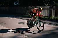 Jos Van Emden (NED/LottoNL-Jumbo)<br /> <br /> MEN ELITE INDIVIDUAL TIME TRIAL<br /> Hall-Wattens to Innsbruck: 52.5 km<br /> <br /> UCI 2018 Road World Championships<br /> Innsbruck - Tirol / Austria
