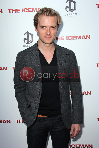 """Adam Campbell<br /> at """"The Iceman"""" Red Carpet, Arclight Theater, Hollywood, CA 04-22-13<br /> David Edwards/DailyCeleb.Com 818-249-4998"""