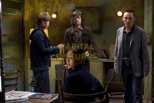 BERLIN CHEN, YOSUKE EGUCHI, CHANG CHEN & CHANG CHUN-NING.in Silk (Guisi) .**Editorial Use Only**.CAP/FB.Supplied by Capital Pictures
