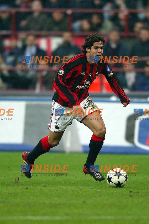 Milano 1/11/2003 <br /> Milan Juventus 1-1<br /> Kaka (Milan)<br /> Foto Baroncini/Insidefoto