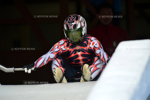 Madoka Harada (JPN),.DECEMBER 23, 2012 - Luge : All Japan Luge Championship 2012/2013, during Women's at Nagano Bob sleigh Luge Park(Spiral), Nagano, Japan. (Photo by Jun Tsukida/AFLO SPORT).