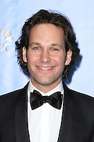 BEVERLY HILLS, CA - JANUARY 13: Paul Rudd in the press room at the 70th Annual Golden Globe Awards at the Beverly Hills Hilton Hotel in Beverly Hills, California. January 13, 2013. Credit MediaPunch Inc. /NortePhoto