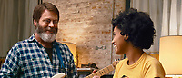 Hearts Beat Loud (2018) <br /> Nick Offerman, Kiersey Clemons<br /> *Filmstill - Editorial Use Only*<br /> CAP/MFS<br /> Image supplied by Capital Pictures