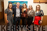 Samantha Stackpoole, Henry McEnery, Kimberly McCarthy, Helena O'Leary and Gloria Keane attending the Causeway Strictly Come dancing in the Ballyroe Heights Hotel on Friday night.