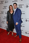 Jill Hennessy and Matt Ratner arrive at the world premiere of Standing Up, Falling Down at the 2019 Tribeca Film Festival presented by AT&T Thursday, April 25, 2019 at SVA Theater - 333 West 23 Street New York, NY.