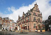 Nederland Nijmegen 2016 02 25. De Boterwaag op de Grote Markt. Foto Berlinda van Dam / Hollandse Hoogte