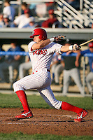 June 21st, 2007:  Bryan Cartie of the Batavia Muckdogs, Short-Season Class-A affiliate of the St. Louis Cardinals at Dwyer Stadium in Batavia, NY.  Photo by:  Mike Janes/Four Seam Images