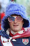 18 JUN 2010: A USA fan, pregame. The Slovenia National Team tied the United States National Team 2-2 at Ellis Park Stadium in Johannesburg, South Africa in a 2010 FIFA World Cup Group C match.