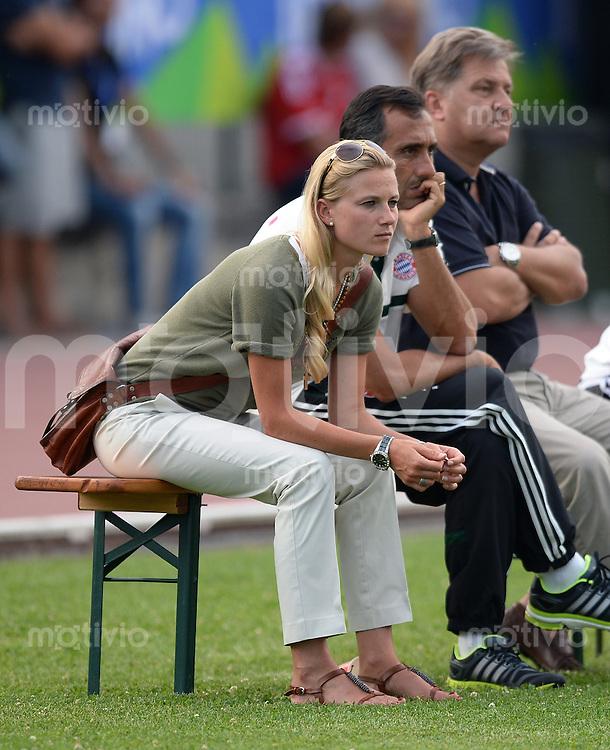 FUSSBALL  1. Bundesliga   2013/2014   Testspiel  FC Bayern Muenchen - Brescia Calcio      09.07.2013 Teammanagerin Kathleen Krueger (FC Bayern Muenchen)